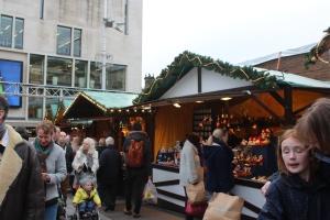 Salah satu stan di Christmas Market